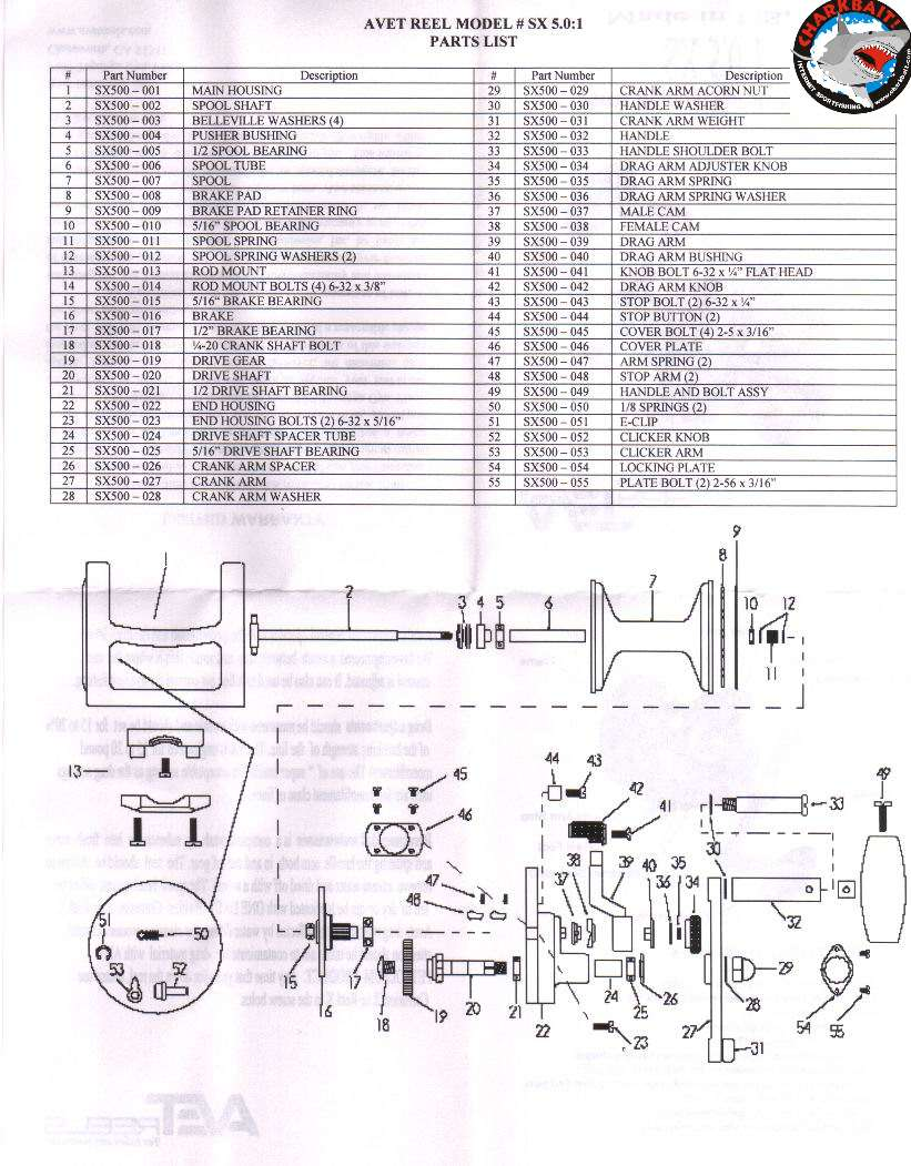 penn 113h parts list and diagram   ereplacementparts