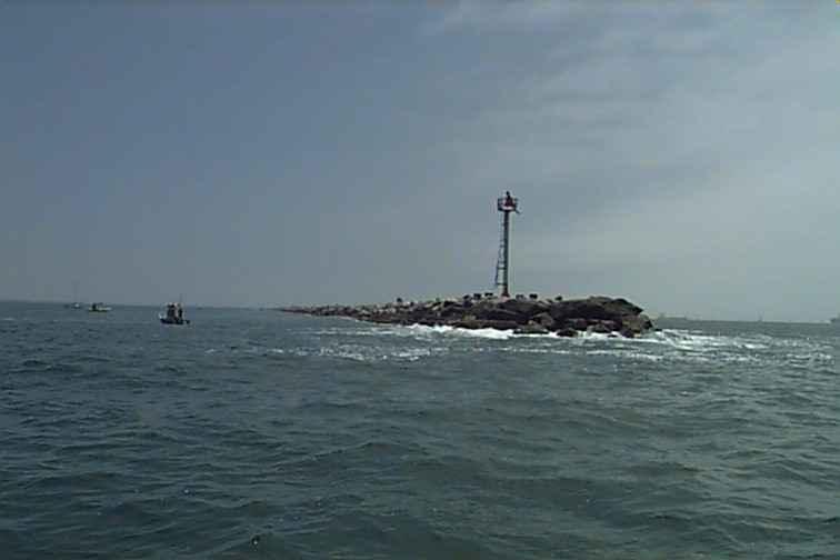 Fishing the wall for Morro bay deep sea fishing